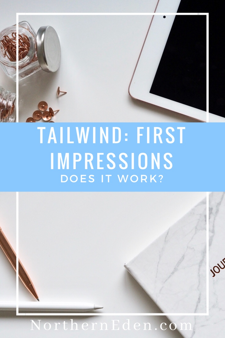 First Impressions of Tailwind